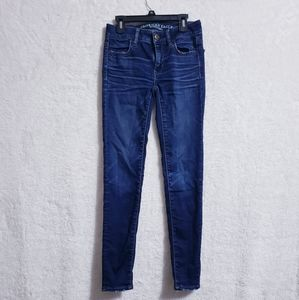 American eagle outfitter Jean's skinny size 0